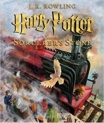 Harry Potter Illustrated Book 1